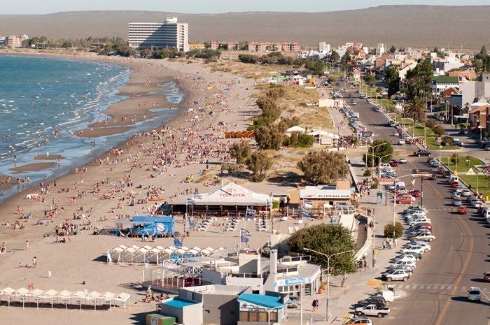 Verano en  Puerto Madryn sol y playas