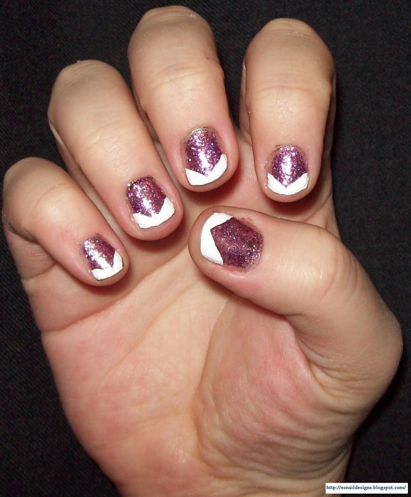 Acrylic White Tip Nail Designs - Nail Art Design Ideas Collection