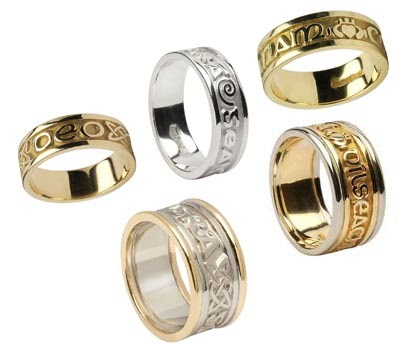 Unique Celtic Wedding Rings: Eternal Promise Wedding Rings