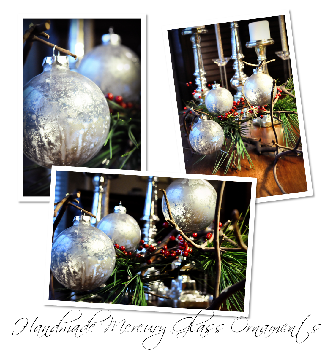 Diy Glass Ornaments: Finding My Aloha: DIY Mercury Glass Ornaments