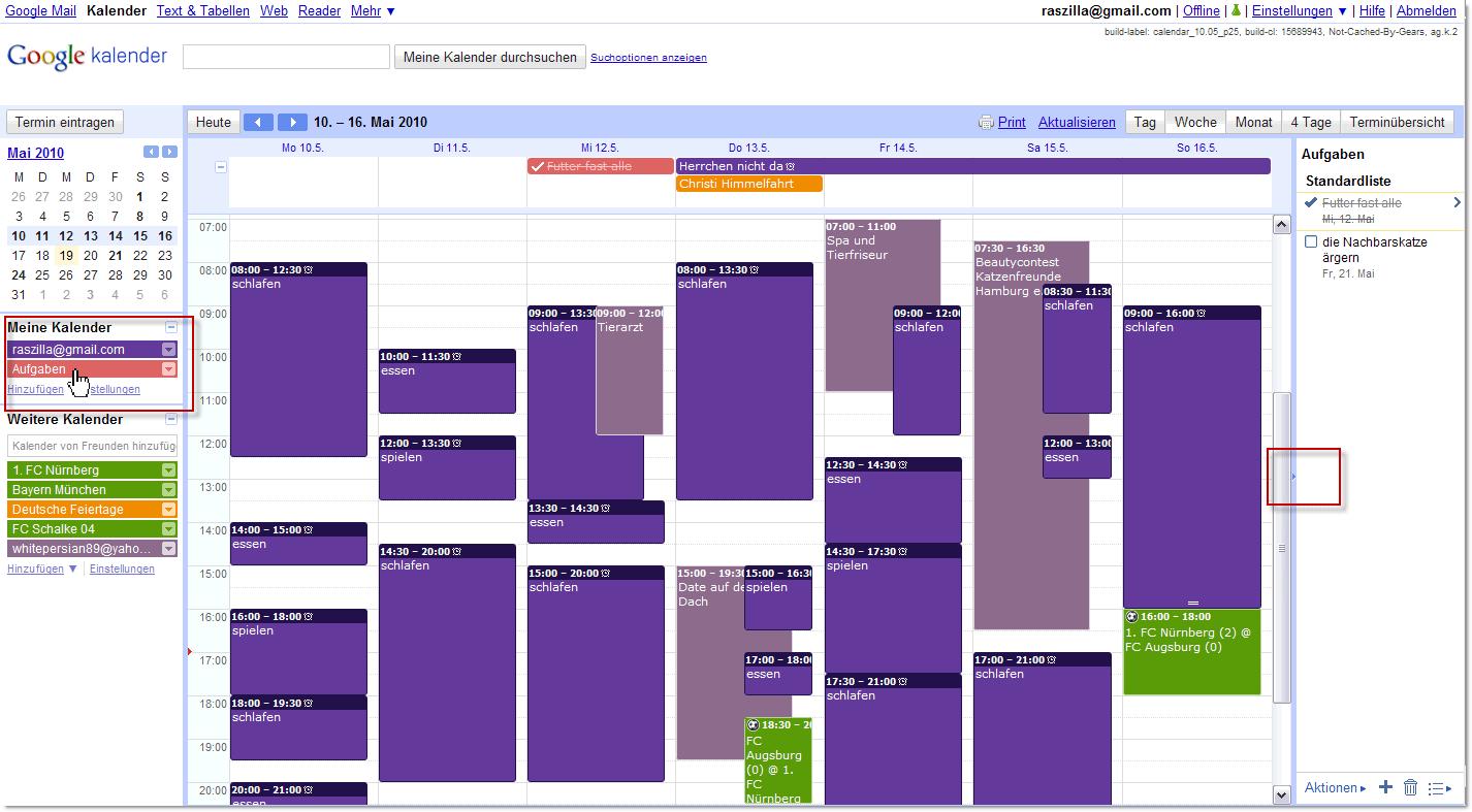 Google.De Kalender