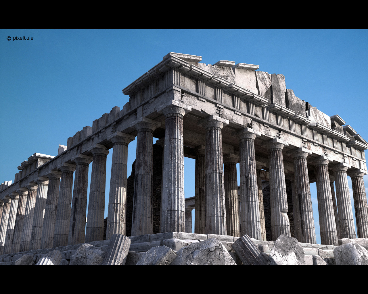 World Geography Project: My Trip To Athens-Parthenon