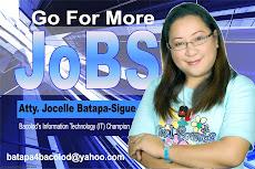 Atty. Jocelle Batapa-Sigue for Congress 2010