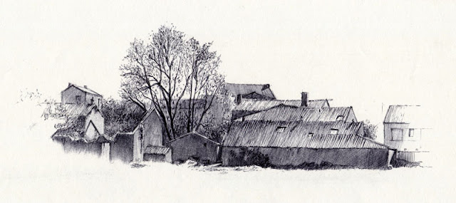 Ruines de la ferme de La Chapelle, Saint-Christophe-du-Bois