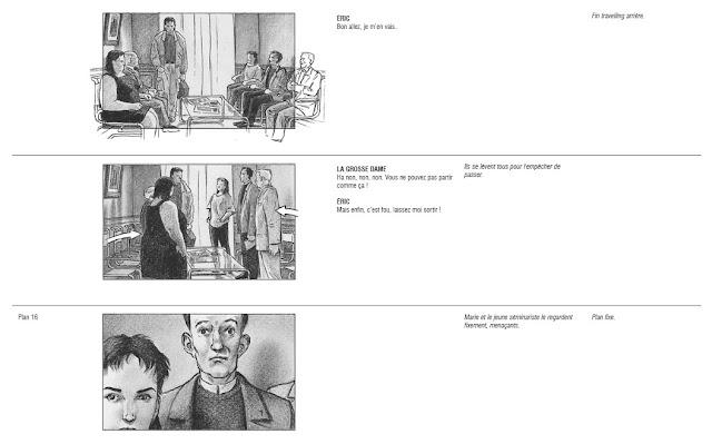 La salle d'attente (storyboard)