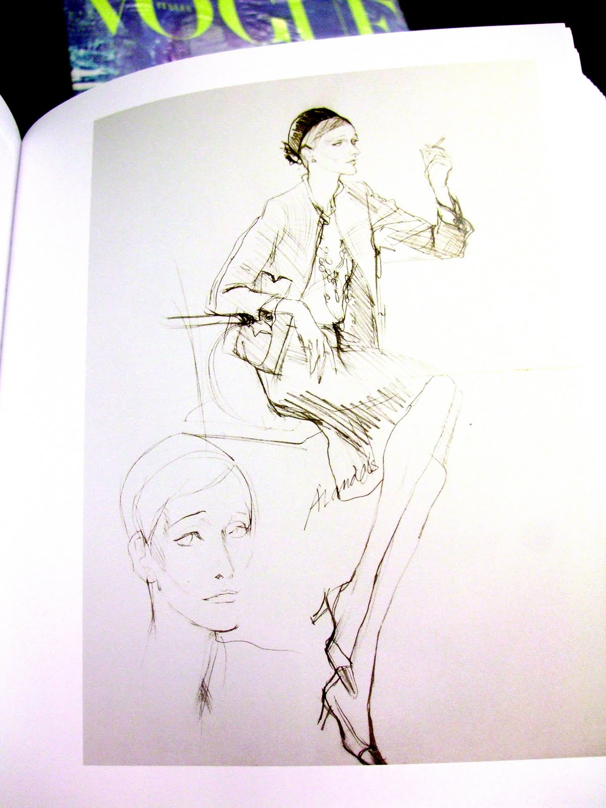 [fashion] 100 years of fashion illustration