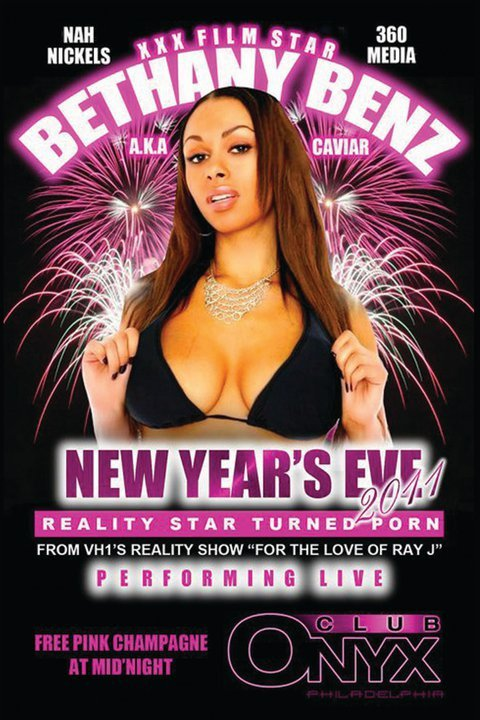 Bethany Benz A K A Caviar Performing Live New Years Eve In Philadelphia Pa