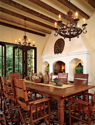 Decor To Adore: Day 11 ~ Spanish Colonial Interiors