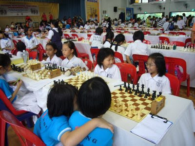 CCAs @ SHPS: 49th National Inter-school Team Chess Championships 2008