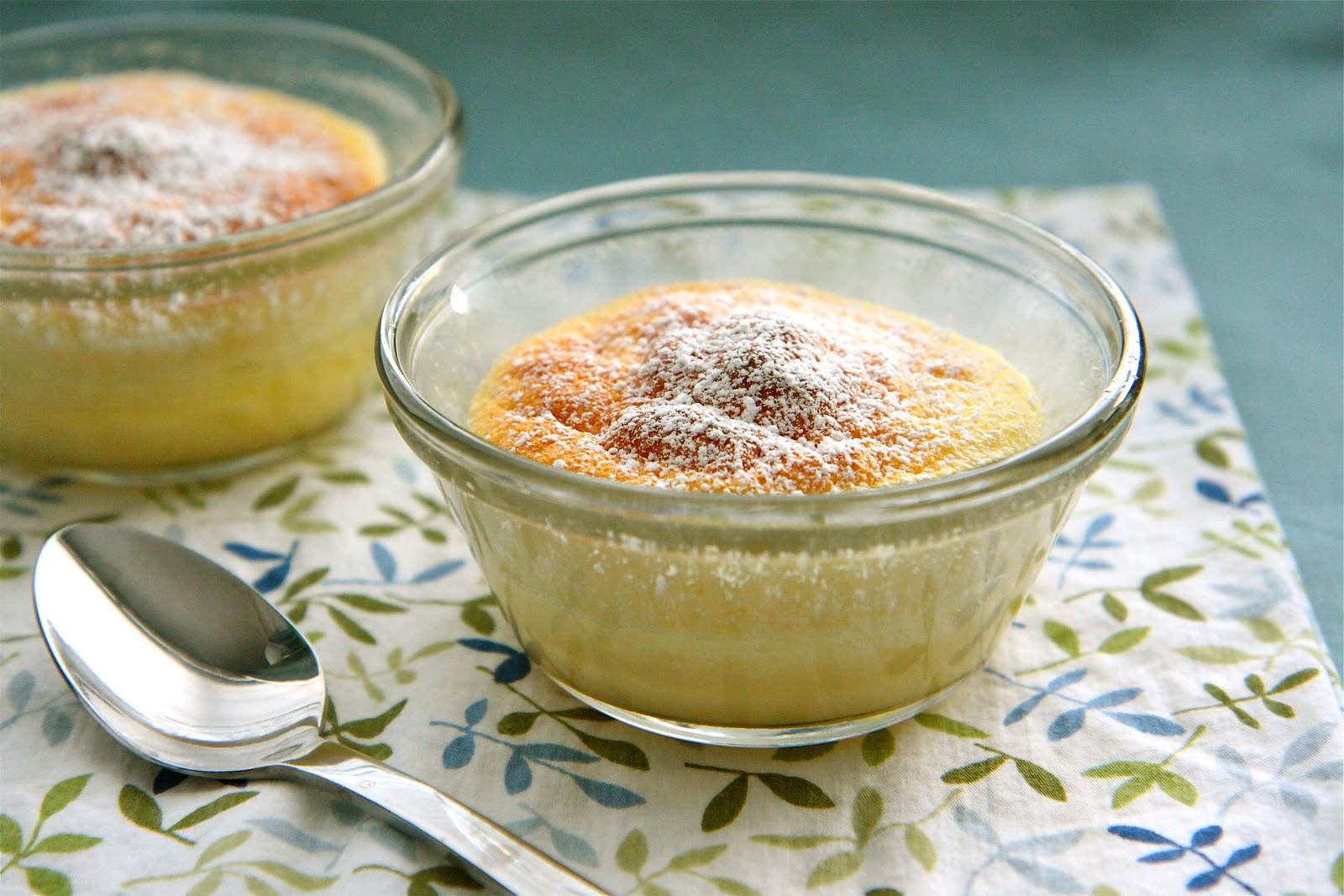 Martha Stewart Lemon Custard Cakes