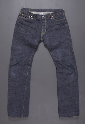 Flat Head 1001 - 16 oz raw, Unsanforized, and Selvedge