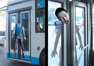 Clever Bus Advertising & Amazing Funny Pics: Clever Bus Advertising