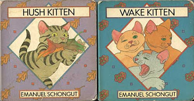 Covers of Hush Kitten and Wake Kitten