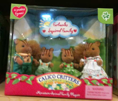 Calico Critters squirrels