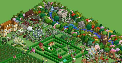 Screen snapshot from FarmVille