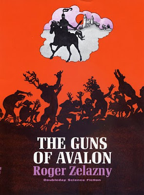 Roger Zelazny's The Guns of Avalon with cover by Emanuel Schongut