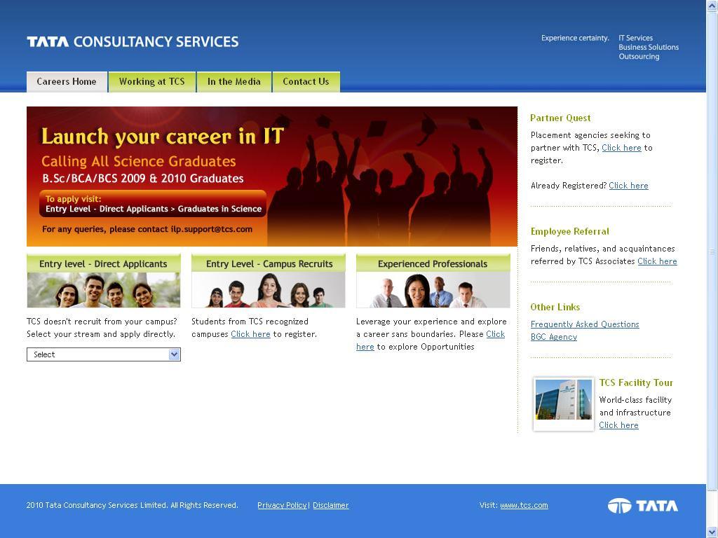 Leer en línea Tcs Official Website To Upload Resume