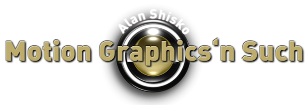 Alan Shisko: Motion Graphics 'n Such: Retro 70's and 80's