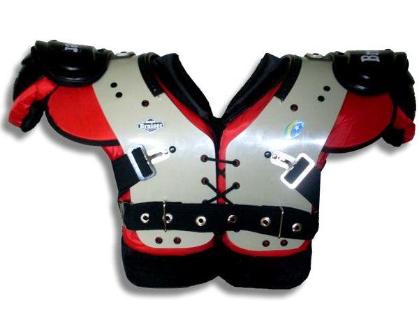 367af3103 SIDELINE BRASIL  BRUISER lança Shoulder Pads para Lineman!!!