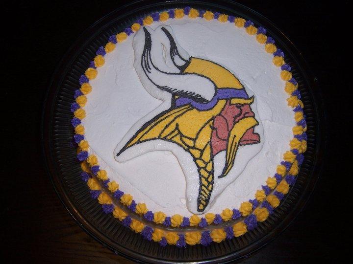 Sweet Creations Minnesota Vikings Fbct