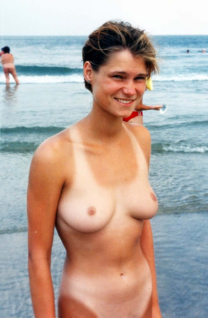 Can Nudism tanlines nudity think