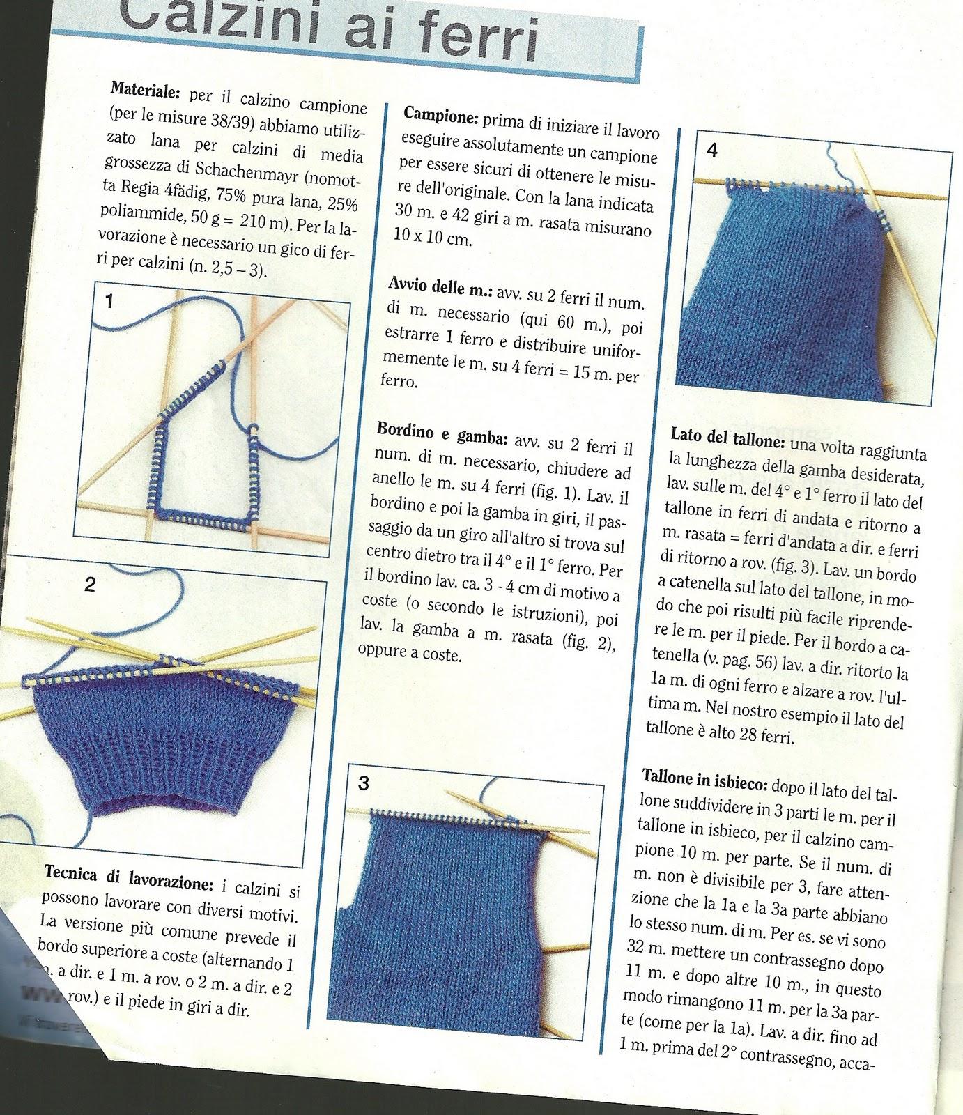 calzature negozi popolari prezzo scontato Tecniche di realizzazione:Come fare:calze, guanti,muffole ...