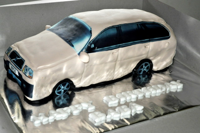 Izah S Kitchen Volvo Birthday Cake