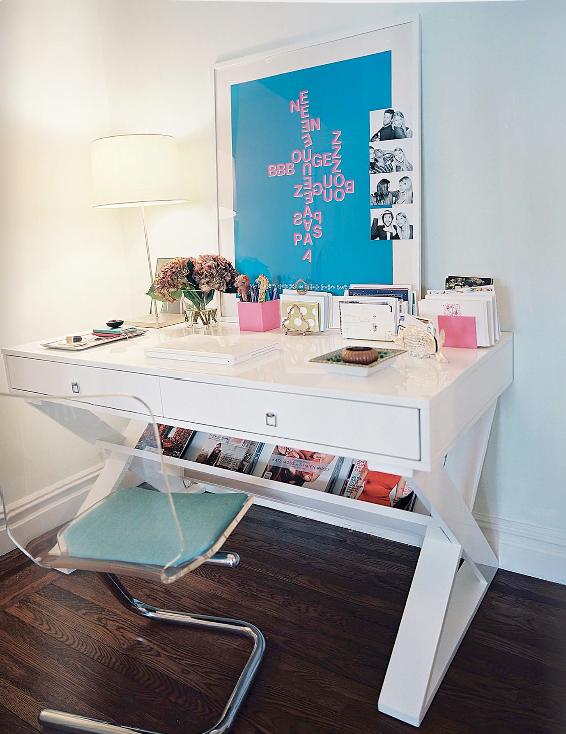 once.daily.chic: Divine desk space..make it yours!