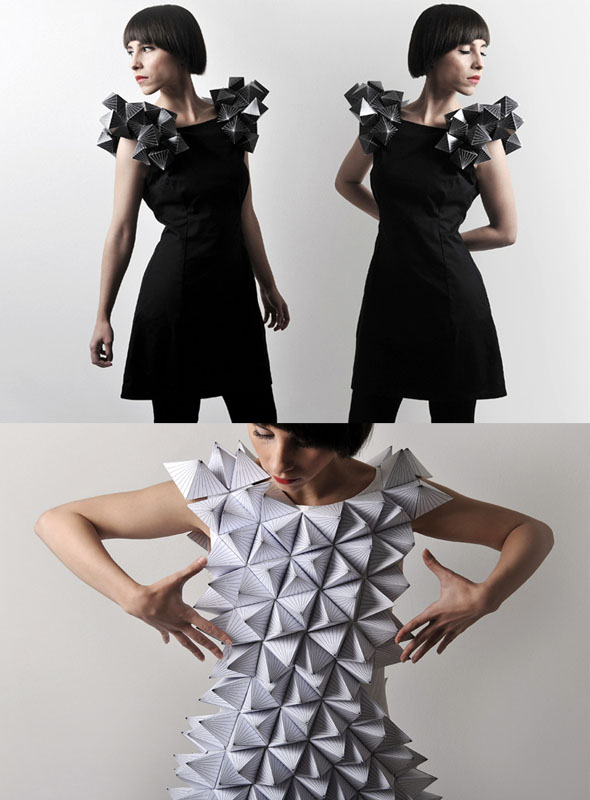 Origami Inspired Fashion Designs