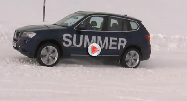 Bmw Kış Lastiği Test Videosu Otomobil Haberleri
