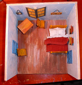Grain Of Salt Van Gogh Quot The Bedroom Quot Diorama