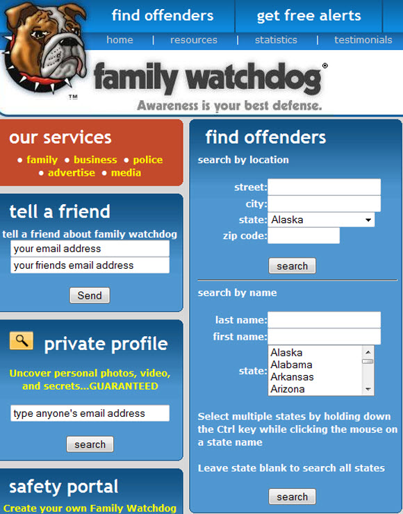 family watchdog sex offenders registry in Coquitlam