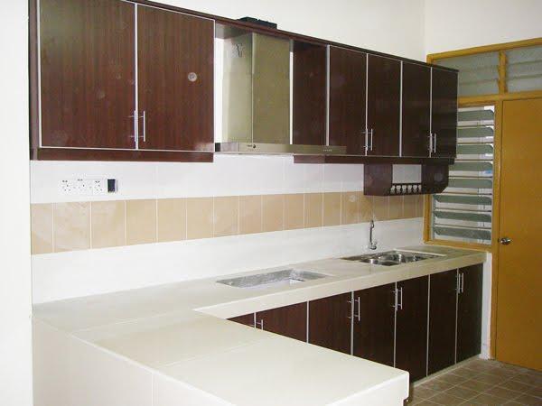 Kabinet Dapur Moden Rumah Teres Desainrumahid Com