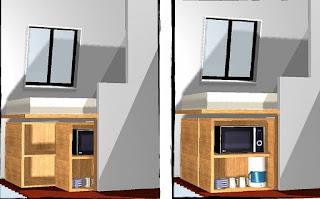 SolutionAppart: Aménagement d'une chambre de bonne de 6m2