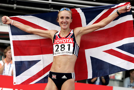 Paula Radcliffe May Look Inefficient, But Her Forefoot