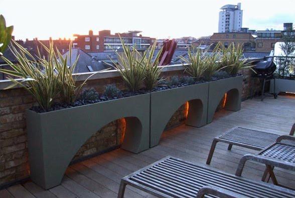All About Modern Ideas Roof Terrace Garden Design By Amir