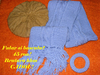 fular bascuta handmade tricotate