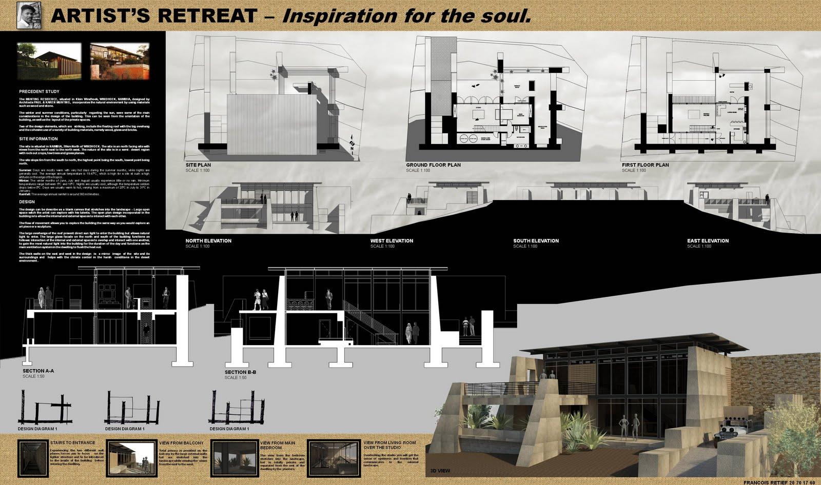 francois retief architecture  artist retreat