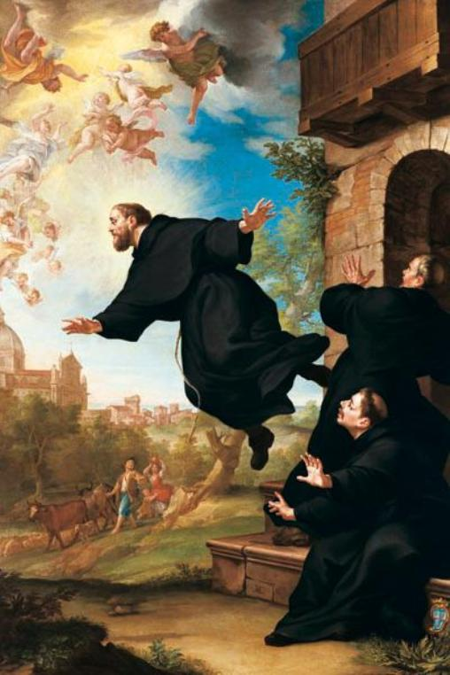 Miracles of the Saints: Levitation and Ecstatic flights in
