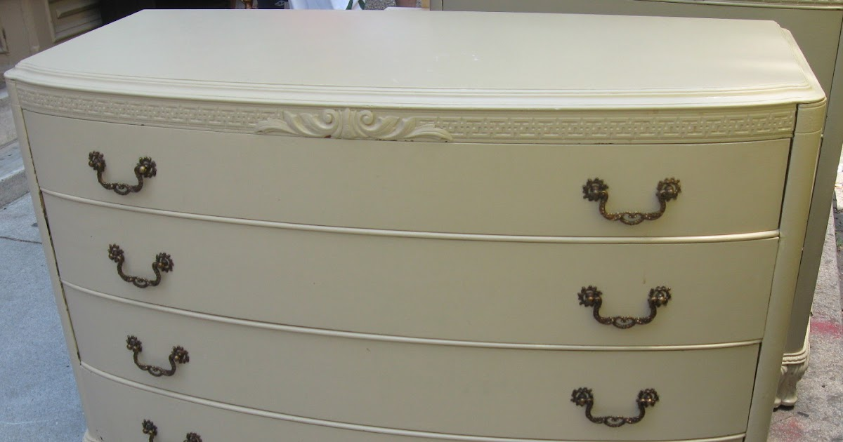 Uhuru Furniture & Collectibles: *BEAUTIFUL* Painted Off