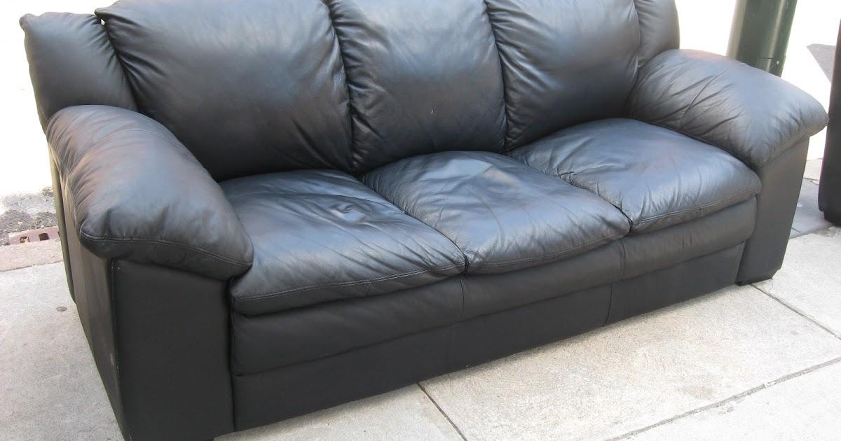 Decoro 2 Piece Leather Sofa Sold