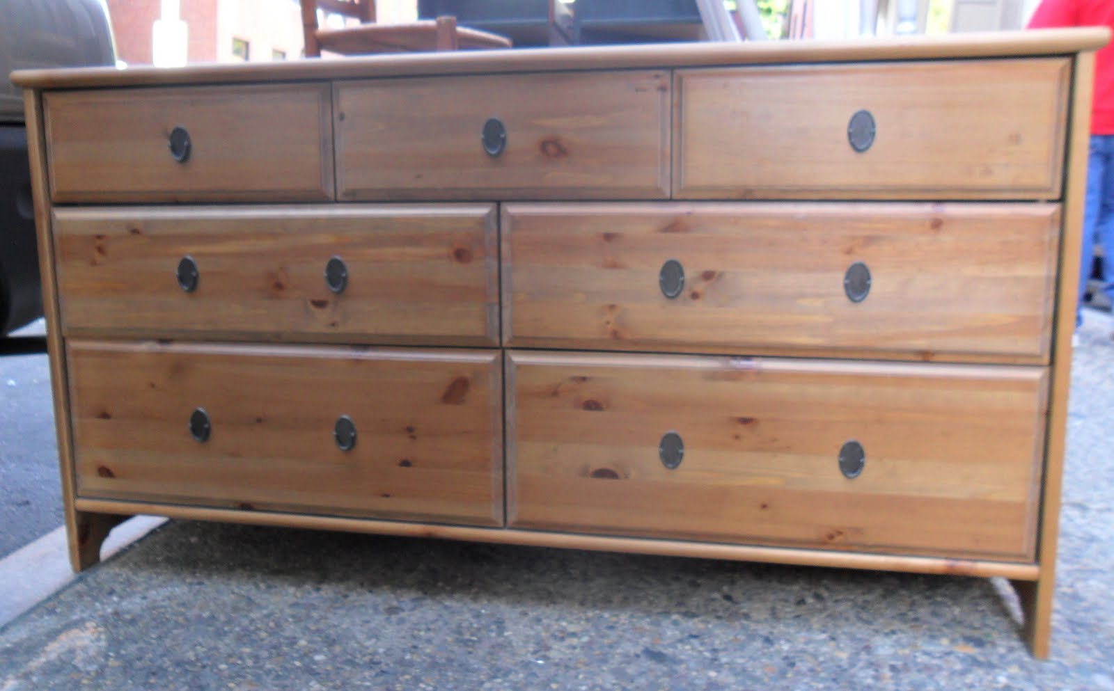 Unique Uhuru Furniture & Collectibles: IKEA Leksvik Dresser SOLD WU59