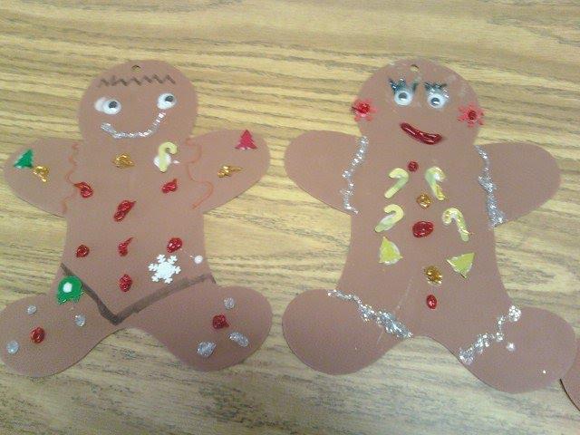 Little Fun; Little Learning: Easy Gingerbread Man Ornament