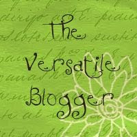 The Versatile Blogger Award! :)