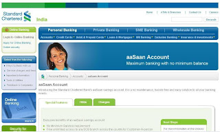 Zero Balance Accounts In Indian Bank Standard Chartered Bank Zero