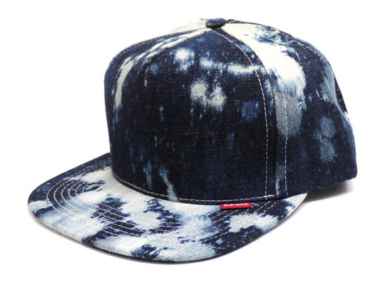 b882dfbefbc In the constant quest of mine to stray away from New Era hats Supreme keeps  helping out. This time Supreme released a bleached denim 5-panel cap.