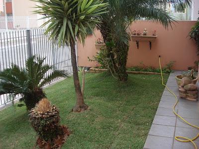 Trocando a grama e outras plantas jeito de casa - Adsl para casa barato ...