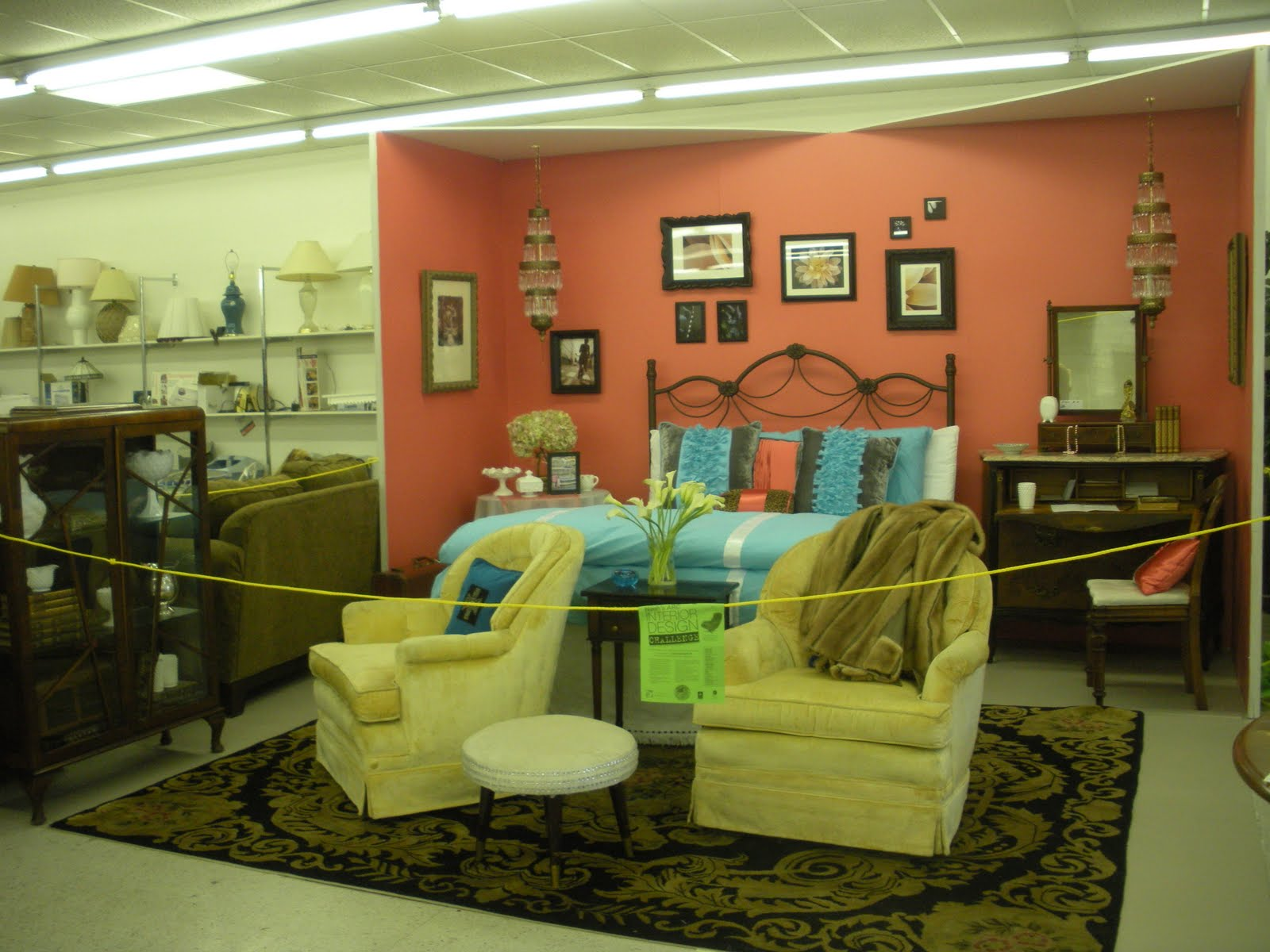 Thrift Store Decorating Ideas