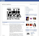 PLEASE FOLLOW  JEFF FISHER LOGOMOTIVES ON FACEBOOK®