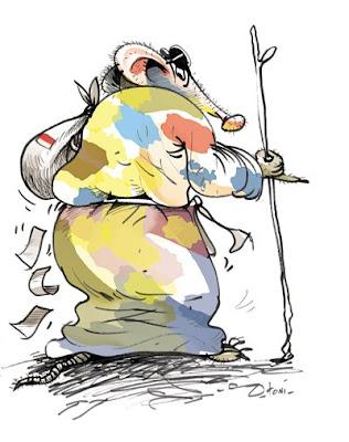 karikatur+kampanye+pejabat Proyek Bermasalah Merajalela di Paluta